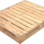 Европоддоны деревянные ТУ 1200*1000 с обвязкой 2 сорт, Челябинск