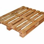 Европоддоны деревянные 1200*1000 1 сорт ТУ, Челябинск