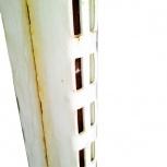 Стеллаж торговый металлический разборный Стойка уголок для стеллажа, Челябинск