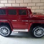 Детский электромобиль Mercedes-Benz G65 red NEW, Челябинск