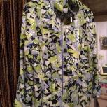 Демисезонная кофта-куртка-ветровка, стильная, женская,, р.50-52, Челябинск