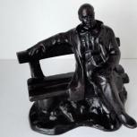 Кусинское литье Ленин на скамейке СССР 1974 год, Челябинск