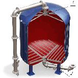 Дренажные системы (ДРУ) щелевого типа для фильтров ФИПа, ФОВ, ФСУ, Челябинск