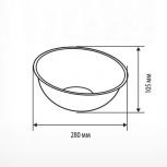 Дисплей полукруглый для мелкого товара bowl - нижняя секция, Челябинск