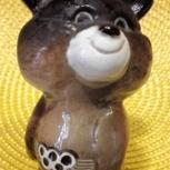 Олимпийский мишка фарфор л.Ф.З. Ссср 1980, Челябинск