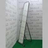 Зеркало напольное, 500lx1550hx500d мм, 5ms-01(хром), Челябинск