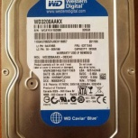 Жёсткий диск western digital hdd 320gb 3.5 SATA, Челябинск