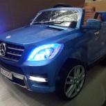 Электромобиль Mercedes-Benz ML350 Лицензия синий, Челябинск