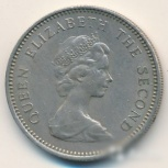 Джерсийские 5 пенсов с портретом Елизаветы2, Челябинск