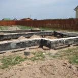 Фундамент, ростверк, отмостки, Челябинск