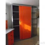 Шкаф-купе металлический для гаража, Челябинск