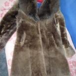 Шубка мутоновая коричневая, Челябинск