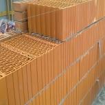 Керамические крупноформатные камни Поротерм 51 для кладки стен, Челябинск