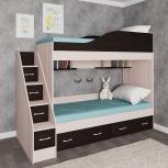 Новая двухъярусная кровать №02, Челябинск