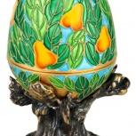 Шкатулка- яйцо под ювелирные украшения, Челябинск
