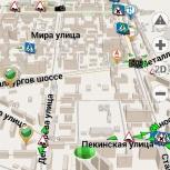 Карта челябинской области для такси ,с дворовыми проездами..01.2019г, Челябинск