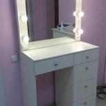 Стол для макияжа с зеркалом и подсветкой, Челябинск