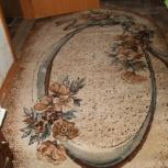 Ковер овальный, в от сост.шерсть, Челябинск