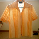 Блузка с короткими рукавами фирмы C&A р. 44-46, Челябинск