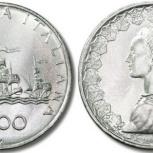 4 итальянских монеты в тч корабли Колумба, Челябинск