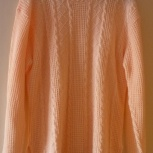 Джемпер женский персикового цвета пр-во Венгрия, Челябинск