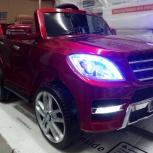 Электромобиль Mercedes-Benz ML350 Лицензия красный, Челябинск