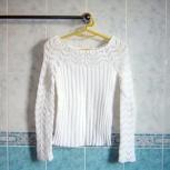 Белый свитер. 38-40р, Челябинск