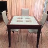 Обеденная зона стол и 4 стула, Челябинск