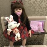 Новая Кукла реборн 60см, Челябинск
