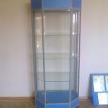 Витрина стеклянная из алюминиевого профиля, Челябинск