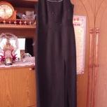 вечернее черное платье  р. 46, Челябинск