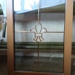 Окно в ламинации глухарь, Челябинск