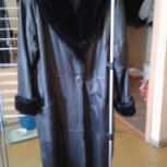 Продам кожаное пальто, Челябинск