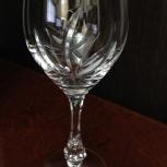 Бокалы хрусталь для белого вина BOHEMIA Crystalе (Чехия), Челябинск