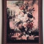 Картина гобелен розы, Челябинск