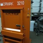 Пресс orwak 3210 для картона полиэтилена новый, Челябинск