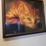 """Картина """"Рыжий кот"""", Челябинск"""