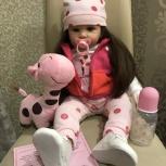 новая кукла реборн 60 см, Челябинск