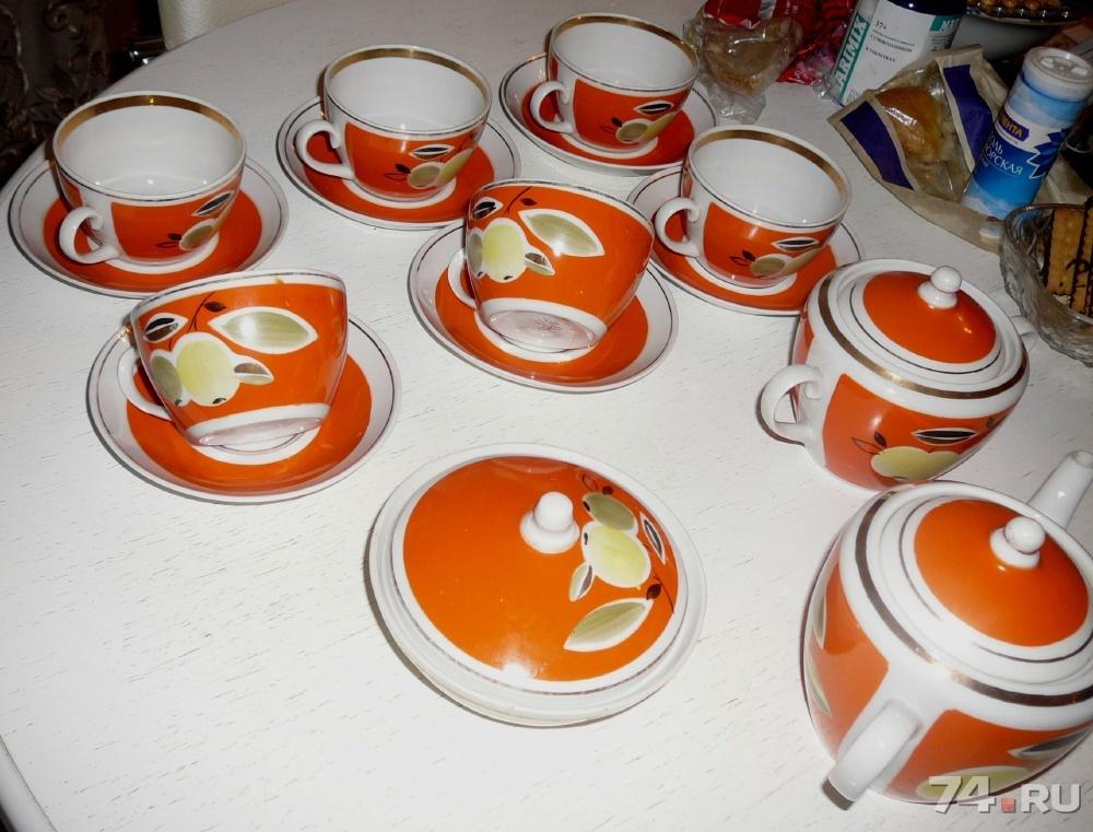 посуда советского времени фото каждой группировке