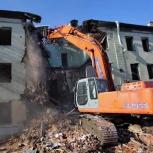 Демонтаж, слом зданий, Челябинск