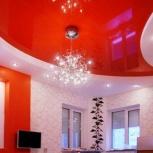 Натяжной потолок светильники в подарок, Челябинск